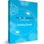 The MacVideo Promo Holiday Bundle includes BoinxTV, Boris Continuum 3D, Martini and more for a $1,300 saving!