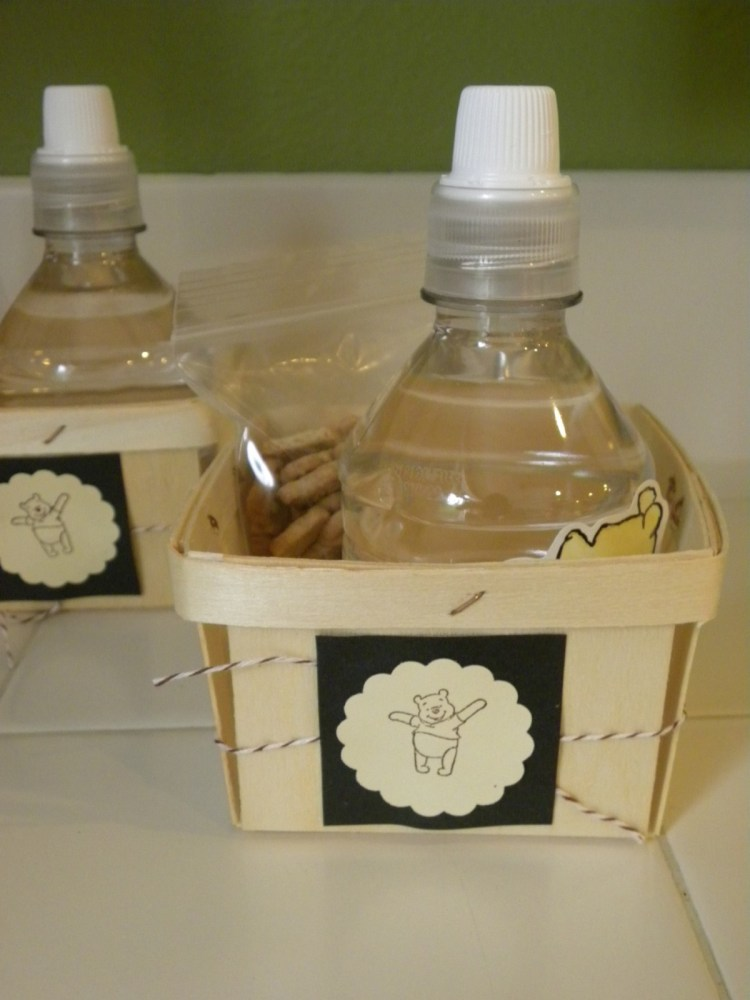 """These were a hit. The berry boxes are from """"Garnish"""". I made a sticker/label and I was done! I love quick and simple."""
