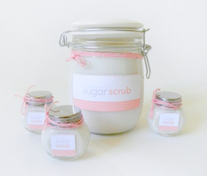 kraft&mint blog DIY Sugar Scrub