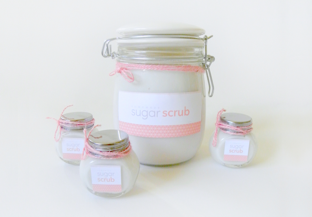 DIY Sugar Scrub + Printable!