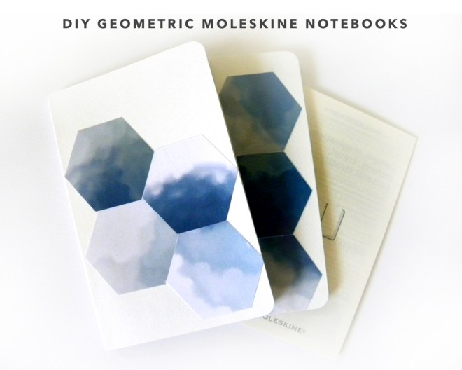 kraft&mint DIY Geometric Moleskine Notebook