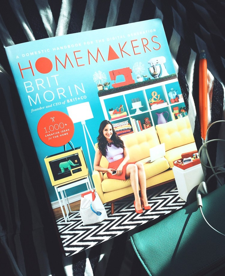 homemakers book by brit morin brief review by kraft&mint