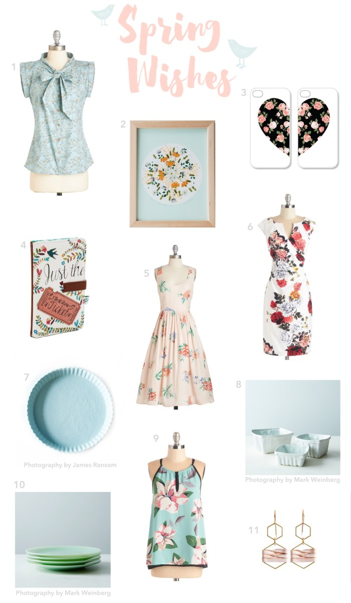11 Beautiful Items that bring Spring to my home
