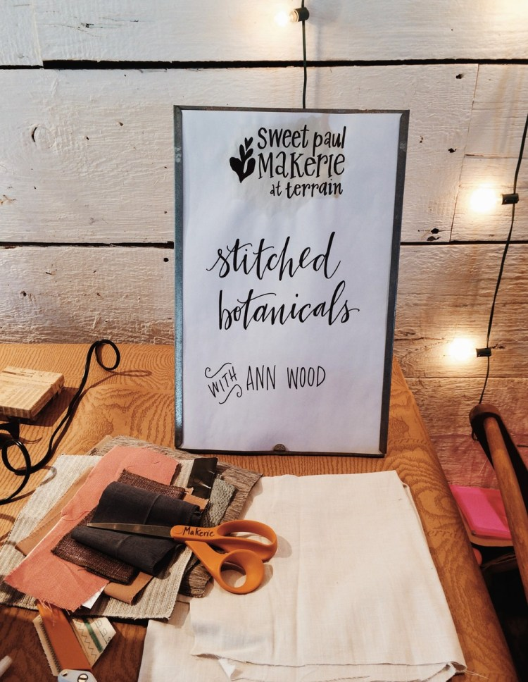 The Makerie 2015 with SweetPaul by kraft&mint