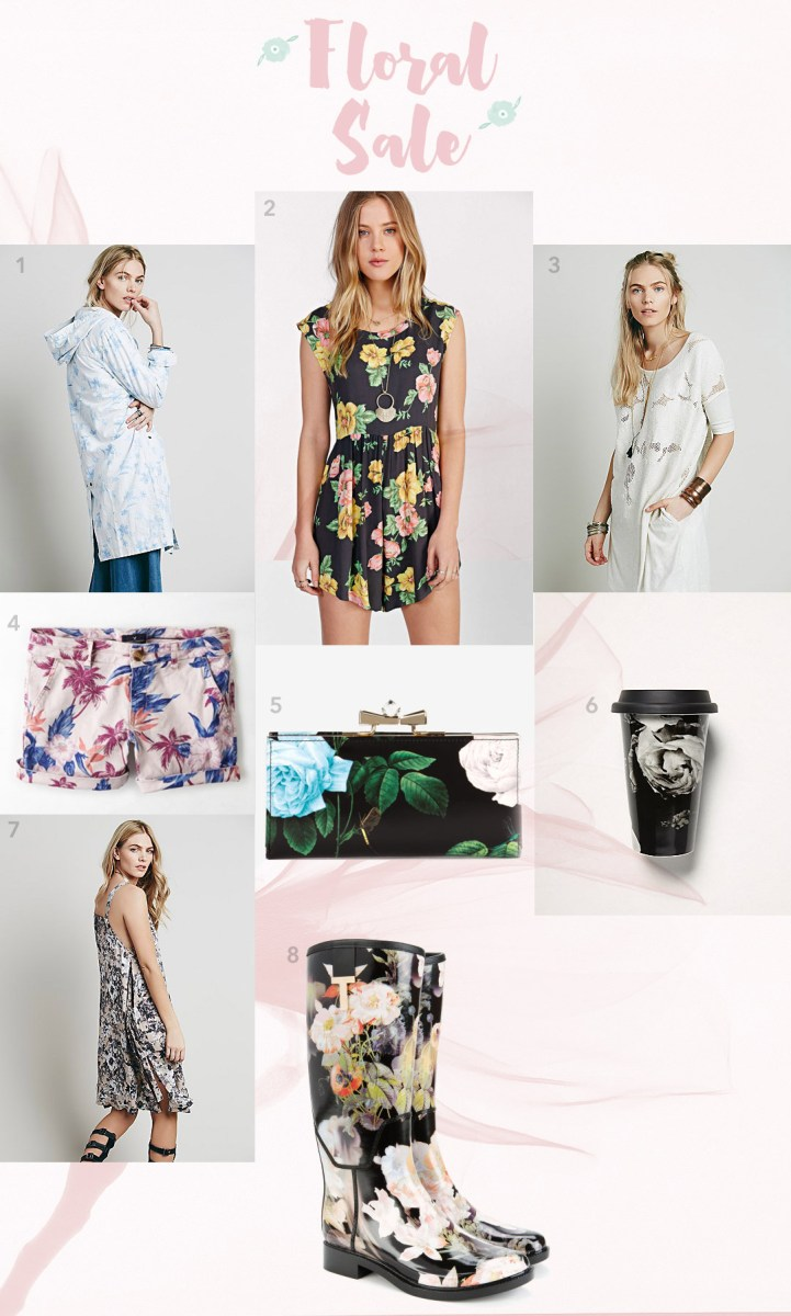 Fashion Finds: A Floral Sale