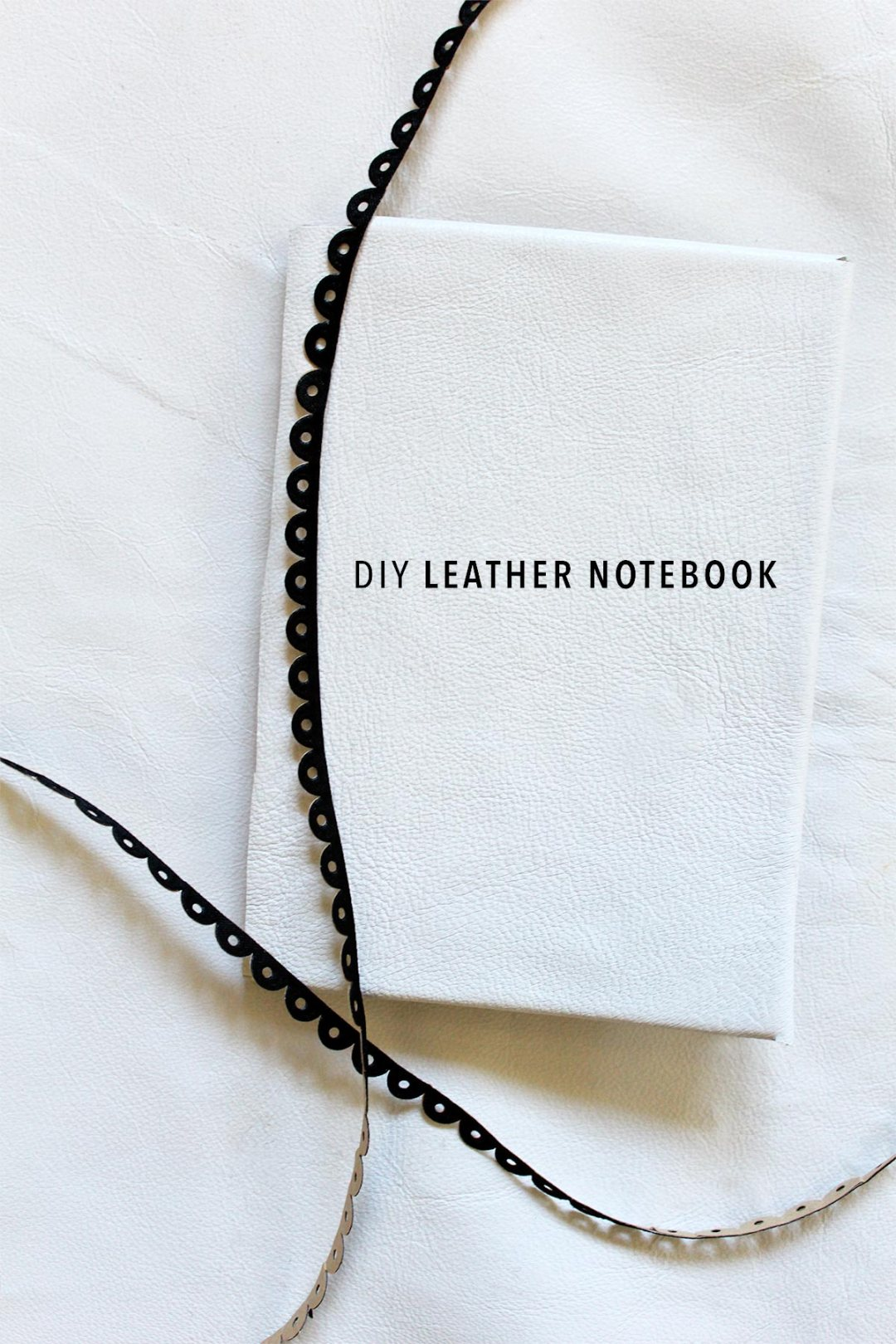 DIY Leather Notebook Tutorial - kraft&mint blog