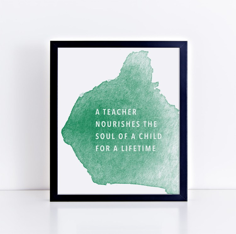 Teacher Appreciation Printable