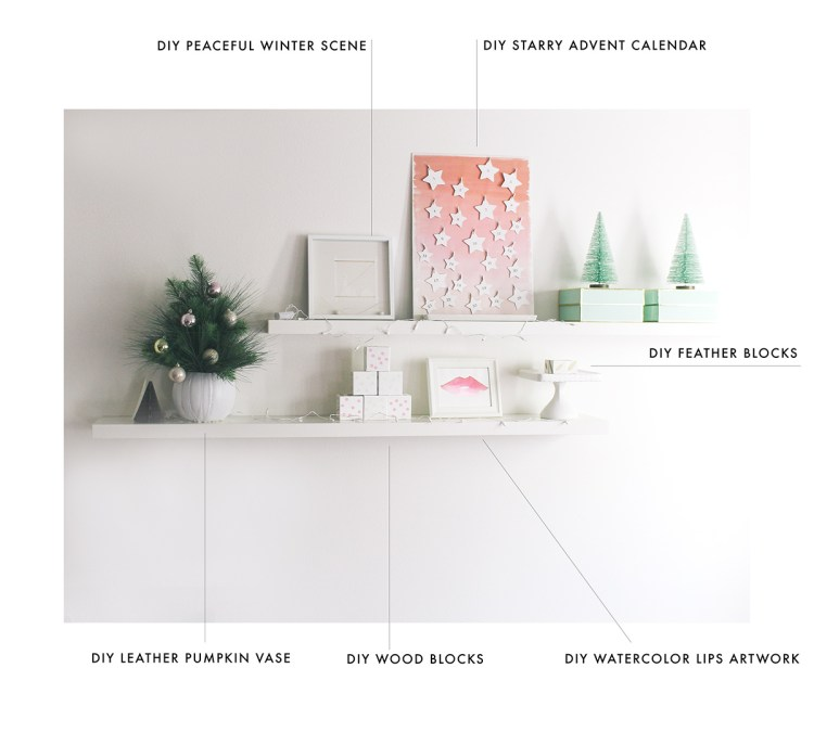 How I decorated at home with six modern crafts