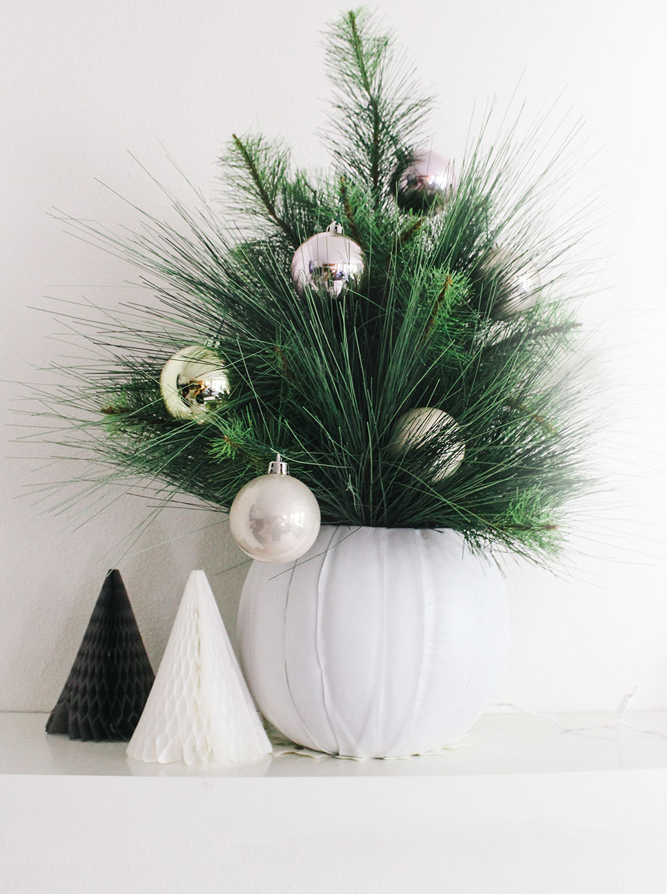 How I decorated for the holidays with six modern crafts