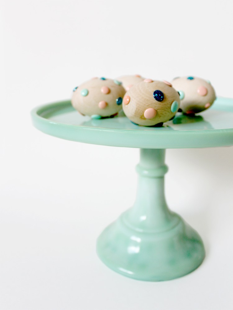 Make these Easter eggs in one step - kraft&mint