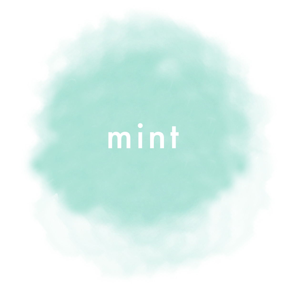 What inspires you? The color mint