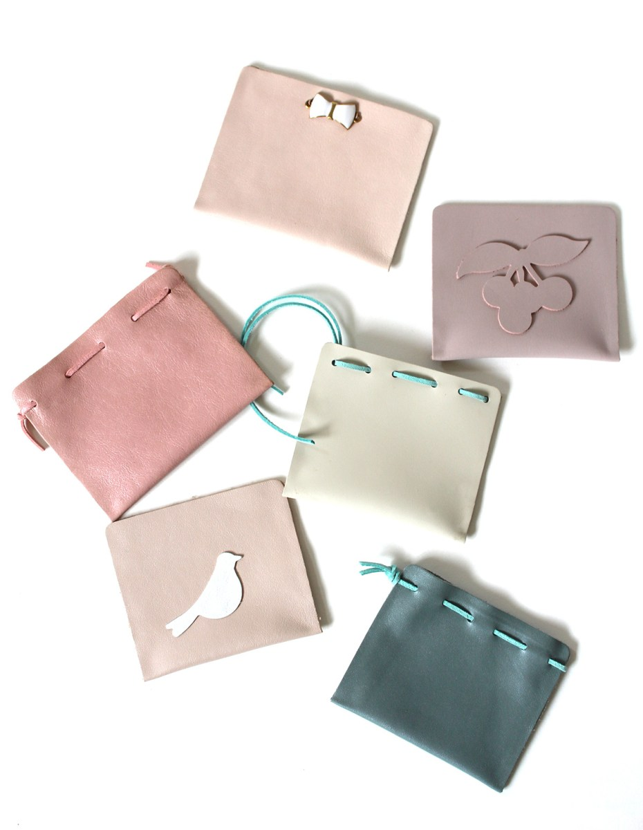 DIY Leather Pouches Designs