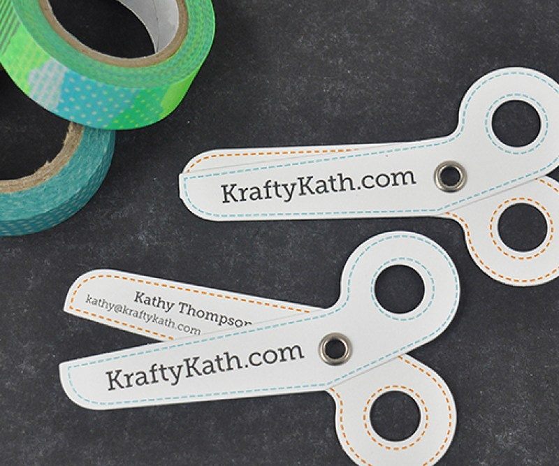 Krafty Kath business cards