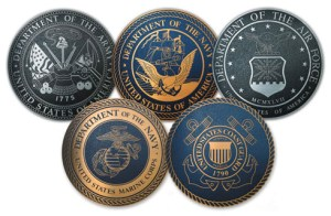 military plaques