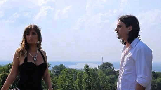 Лидија Живуљ и Стеван Лутовац (сцена из филма)