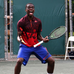 Plantation, Florida, Francis Tiafoe, Junior Champions Tennis Center, College Park, Maryland, USA, age 15, becomes the youngest player in history to win the Orange Bowl International Boys' 18s defeating Stefan Kozlov, USA, age 15, Pembroke Pines, 7-6 (7-3), 0-6, 6-3.