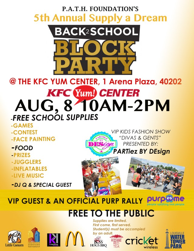 Path Foundation Back2School Flyer