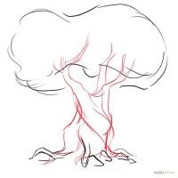 Ako kresliť listnatý Strom