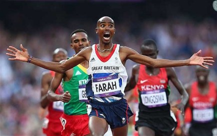 Mo Farah- Olympic and World champion