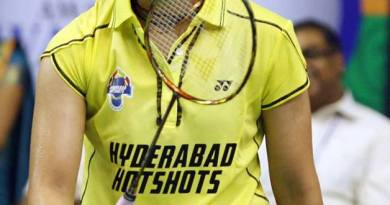 Saina Nehwal-Hyderabad Hotshots Player