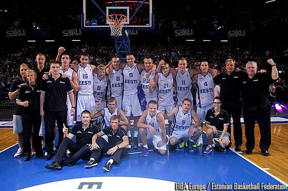 Estonia booked its place for the EuroBasket 2015