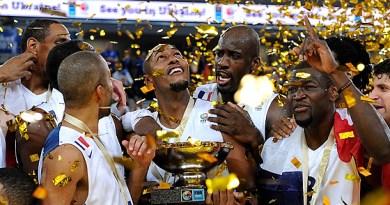 EuroBasket2013 France winning Team