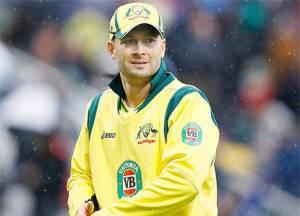 Team Aus on India tour