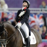 Equestrian Queen Charlotte Dujardin Shines at London International Horse Show