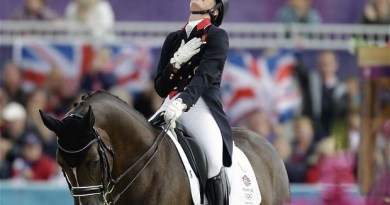 Charlotte Dujardin with Horse