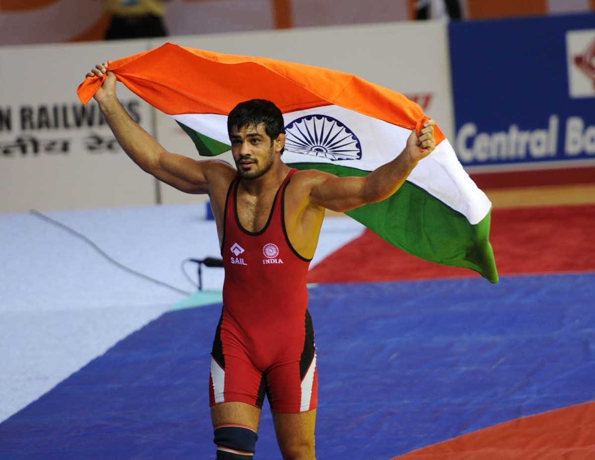 Sushil Kumar wrestling champion