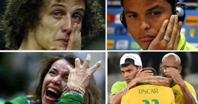 Germany vs brazil football fans