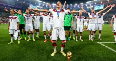 World Cup Victory For Germany