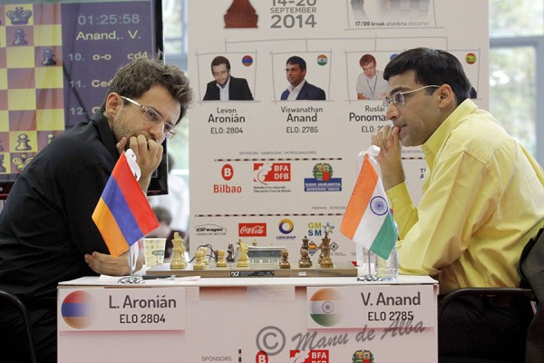 Anand chess match