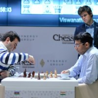 Anand Wins Eighth Round As Well, Now Half-Point Behind Carlsen in Shakir