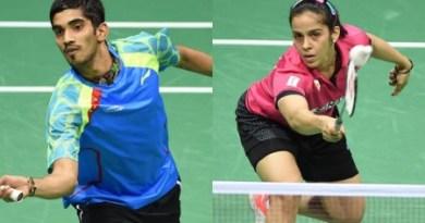 Saina, Srikanth indian badminton