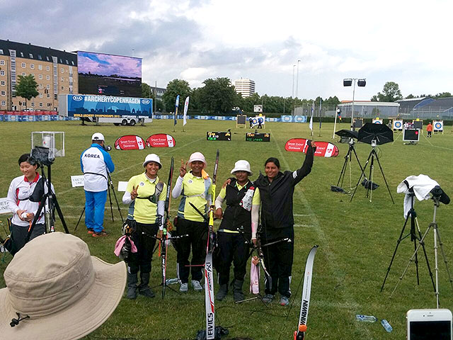 While Indian Women Archers Qualify for 2016 Rio Olympics Men Disappoint