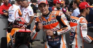 Marquez Takes Second Top Podium