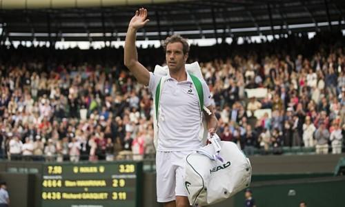 Richard Gasquet in Wimbledon