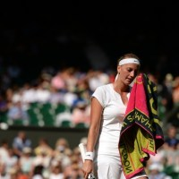 Petra Kvitova Crashes out on Day 6 at Wimbledon 2015 Murray Federer Reach Fourth Round