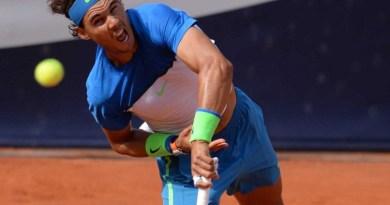 Nadal Plays Fognini