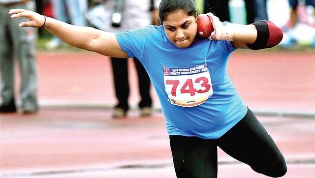 Athlete Manpreet Kaur