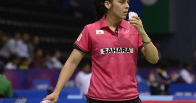Saina Nehwal in China Open