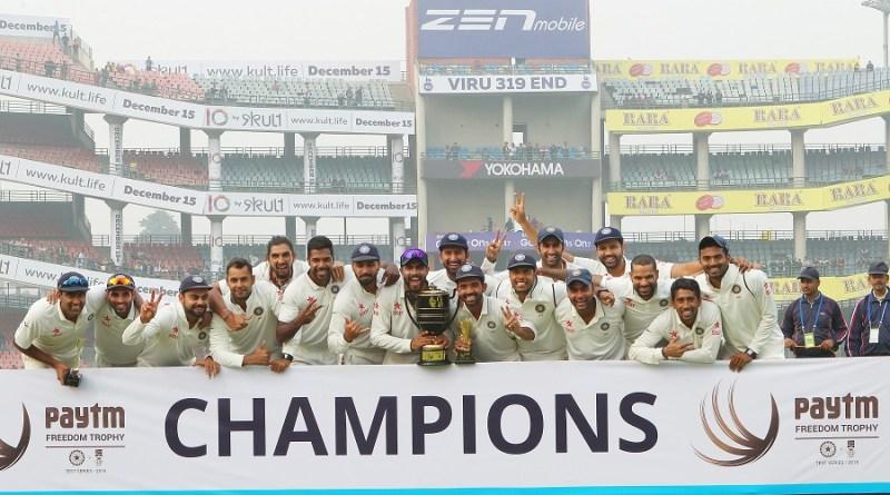 India v SA 4th Test cricket
