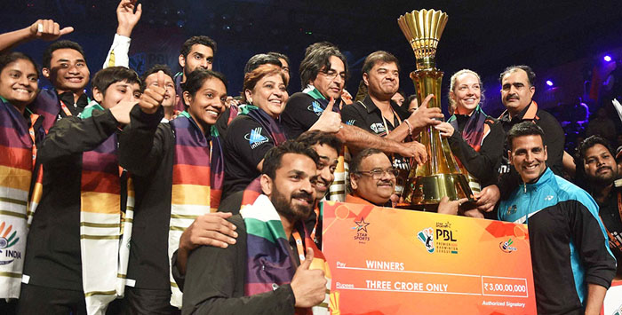 Premier-Badminton-League winner