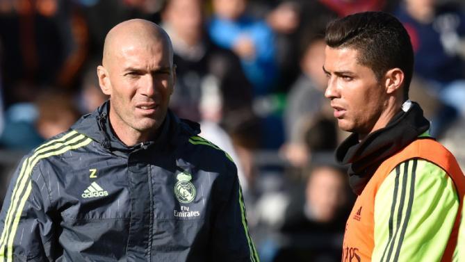 Top of La Liga real madrid