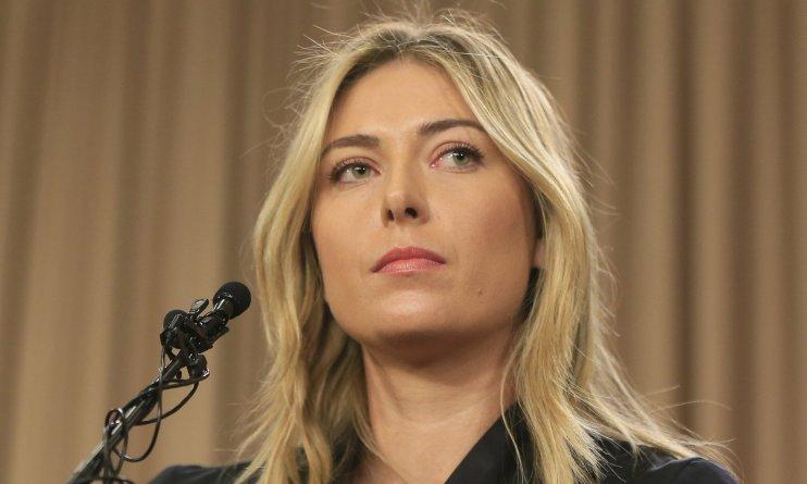 maria sharapova's ban