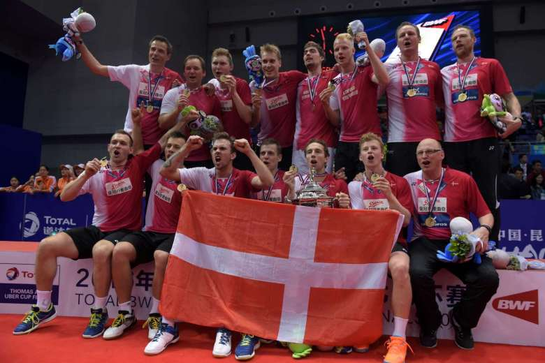 Hans-Kristian Vittinghus Leads Denmark to Their First Ever Thomas Cup Victory in 67 Years