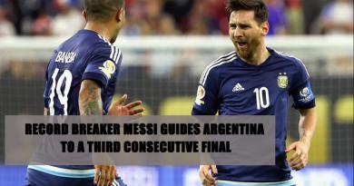 Record Breaker Messi
