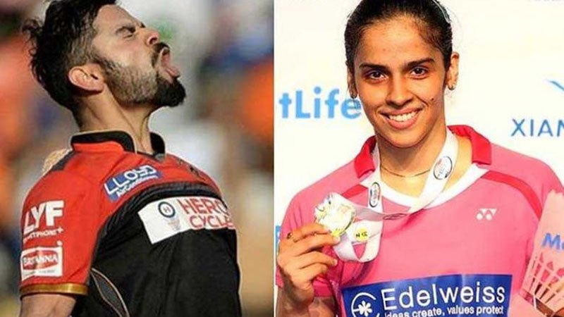 Olympic Bound Saina Nehwal Attributes Her New-Found Aggression to Virat Kohli
