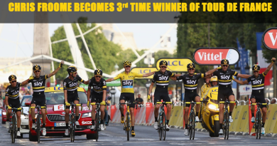 Chris Froome Becomes Third-Time Winner of Tour de France